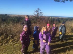 Mia Nordby arbejder i Anholt Børnehave